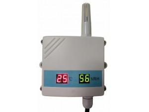 Temperature and humidity transmitter